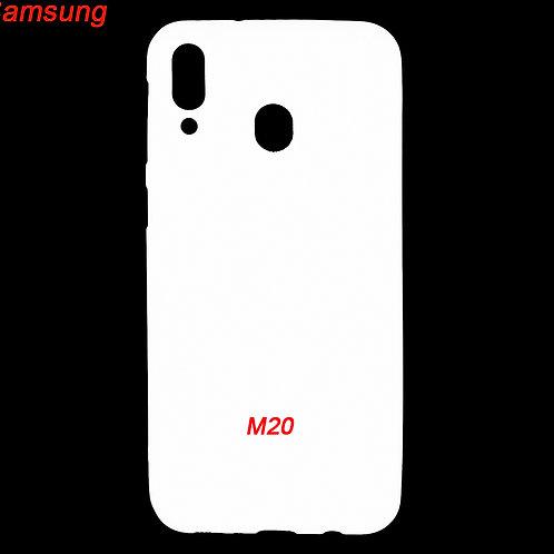 Samsung galaxy M20 hard phone case for custom printing