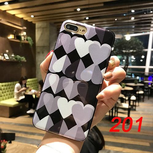 iPhone shimmering powder soft tpu case 200 201