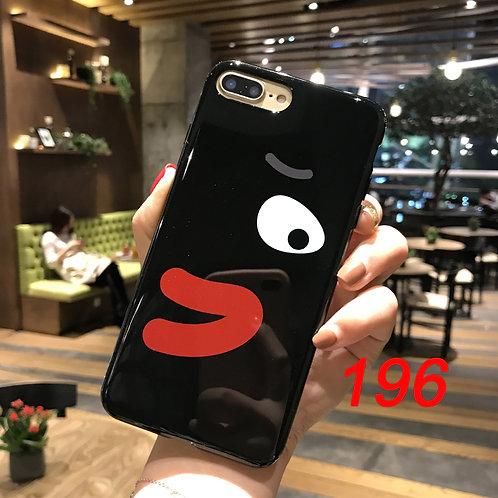 iPhone shimmering powder soft tpu case 196