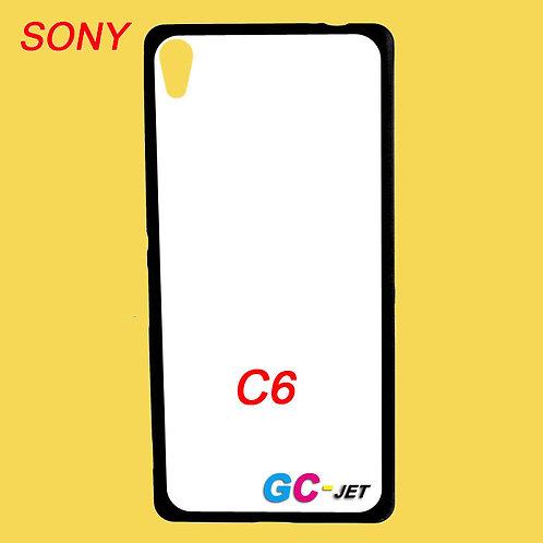 Sony Xperia C6 printable back tpu soft phone case