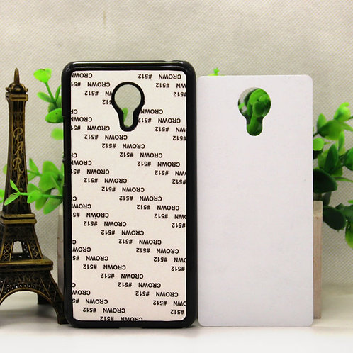Meizu Noblue Note3 blank 3D sublimation phone case for heat transfer picture