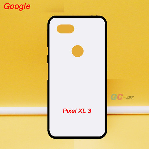 Google pixel XL 3 soft tpu phone case with white printable back