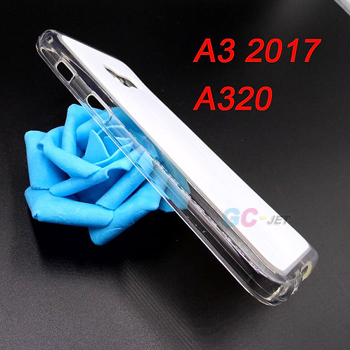 Galaxy A3 2017 transparent tpu flexible phone cover for printer printing
