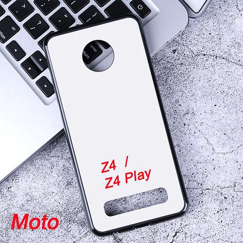 Moto Z4 / Z4 Play soft mobile case for diy printing