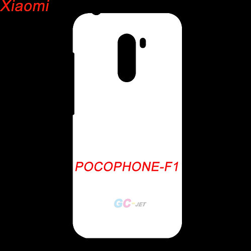Xiaomi POCOPHONE F1 printable plastic white phone cases