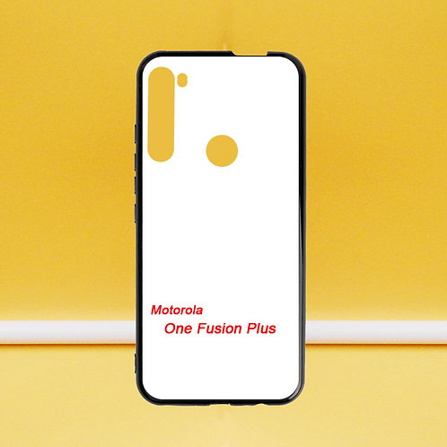 For Motorola One Fusion Plus soft tpu phone case for printing