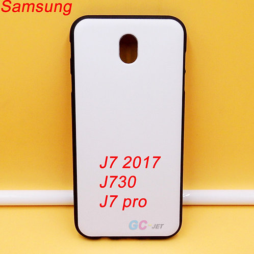 Samsung Galaxy J7 Pro / J7 2017 / J730 black tpu soft case for picture printing