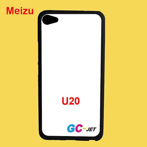 Meizu U20 printable black tpu soft phone case