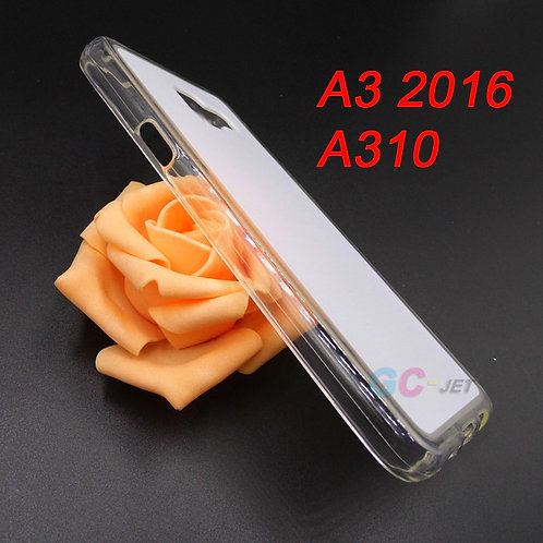 Samsung Galaxy A3 2016 transparent printable tpu cover case