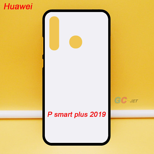 Huawei P Smart plus 2019 soft tpu cell phone case for diy printing