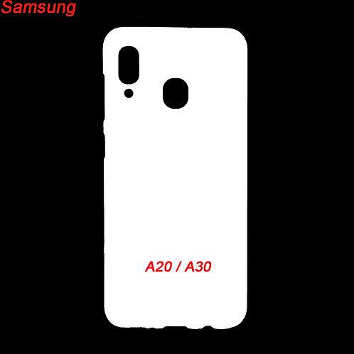 Samsung galaxy A20 / A30 plastic phone case for printing diy