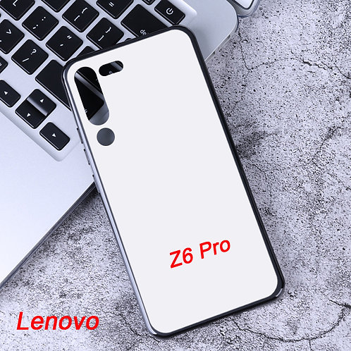 Lenovo Z6 Pro soft phone case with white coated back for printing