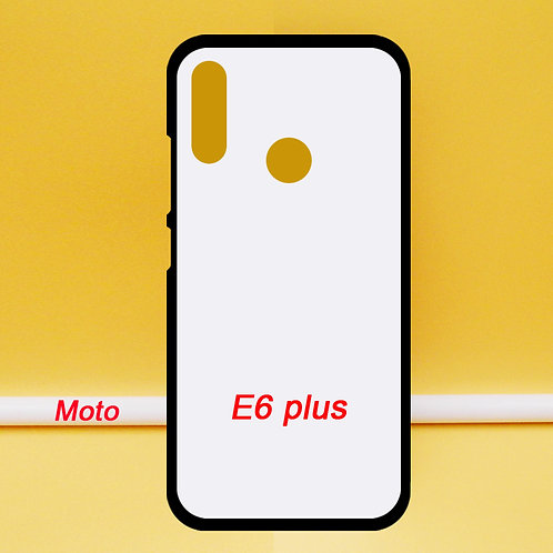 Moto E6 plus mobile phone case soft blank printable