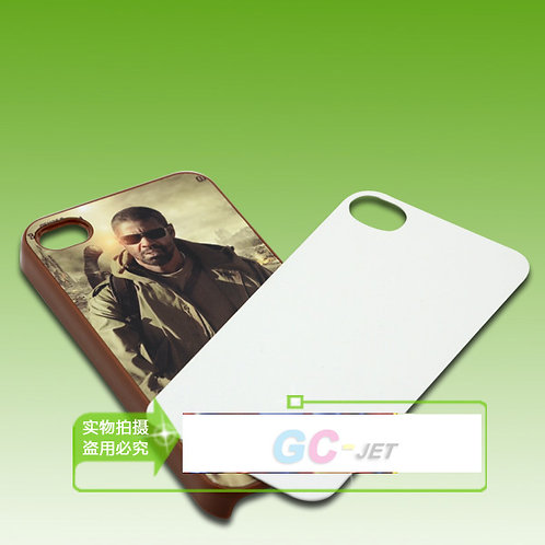 iPhone 4 4s blank 3d sublimation phone case for heating transfer picture