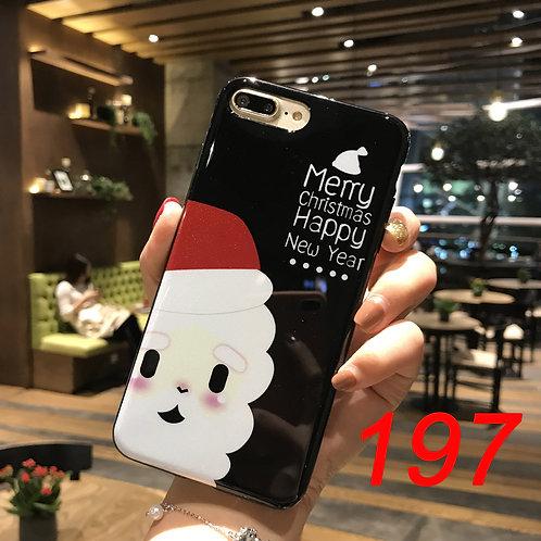 iPhone shimmering powder soft tpu case 197