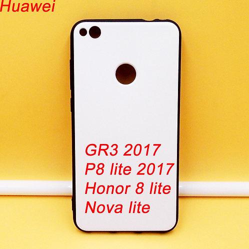 Huawei GR3 2017  P8 LITE 2017 HONOR 8 LITENOVA LITE printable tpu phone case