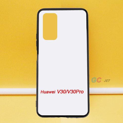 Huawei V30 / V30 pro blank soft printable mobile case with white coated back