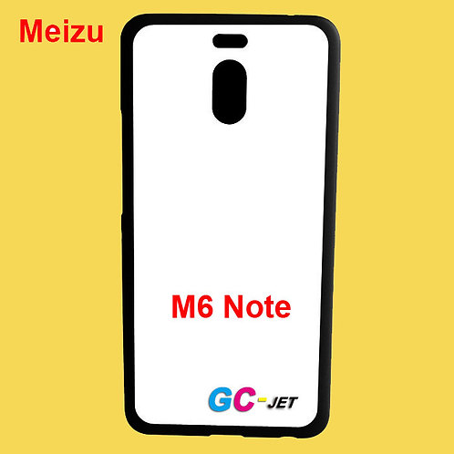 Meizu M6 Note black tpu soft phone case for printers printing