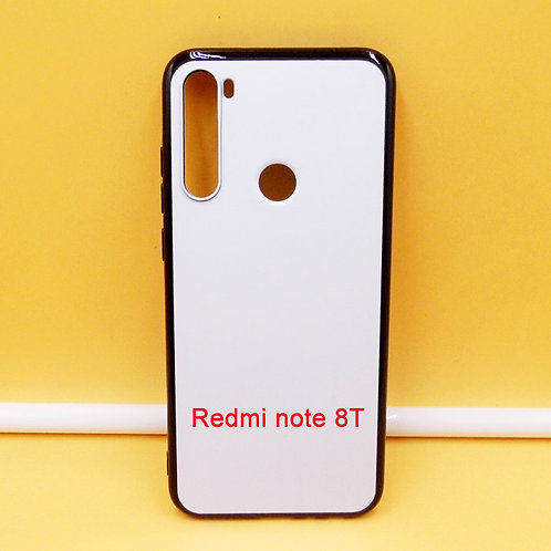 Redmi Note 8T soft phone case for uv printing machines