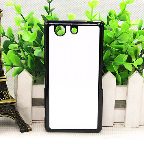 Sony Z4 mini blank 3D phone case for picture heat transfer