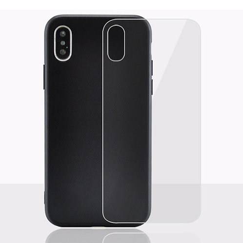 Printable tempered glass phone case for iPhone X/XR/XS/XS Max