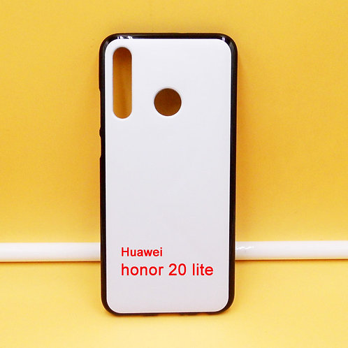 Huawei honor 20 lite flexible mobile phone case for custom printing