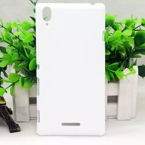 Sony T3 blank white phone cover for heat transfer photo