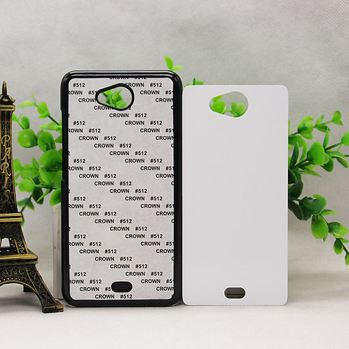 Micromax canvas play Q355 blank 3D sublimation phone case for heat transfer pict