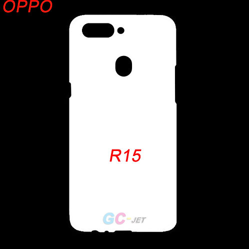 OPPO R15 hard phone cover case for printing diy