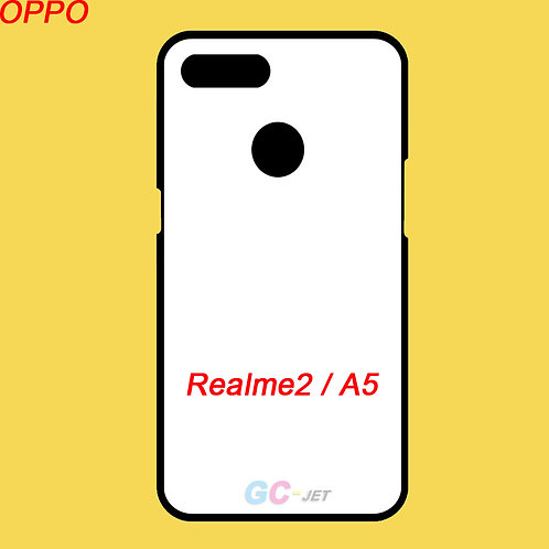 OPPO Realme2 / A5 blank printable tpu soft mobile case for printing