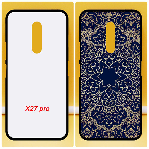 Vivo X27 pro soft cell phone case for diy printing
