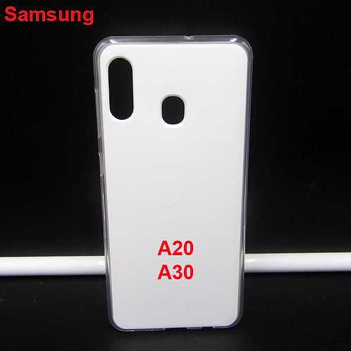 Printable blank soft tpu mobile phone case for Samsung galaxy A20 / A30