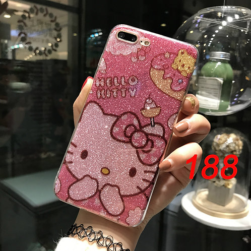 iPhone shimmering soft tpu case 188 189