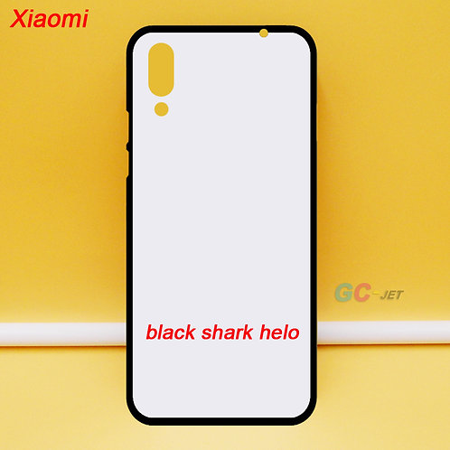 Xiaomi black shark helo printable mobile phone case - blanks with white back