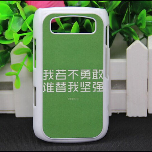 Blackberry 9700 blank 3D sublimation phone case for heat transfer picture