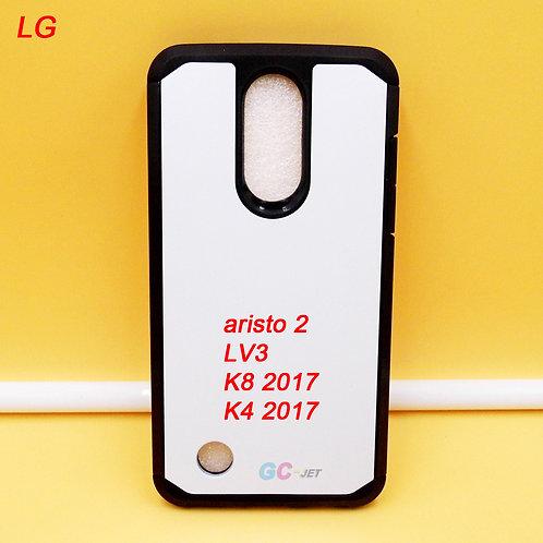 LG aristo 2 / LV3 / K8 2017 / K4 2017 blank printable armor phone slim case