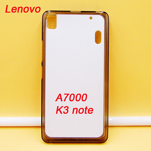 Lenovo A7000 /K3 note blank printable tpu soft phone case for printers