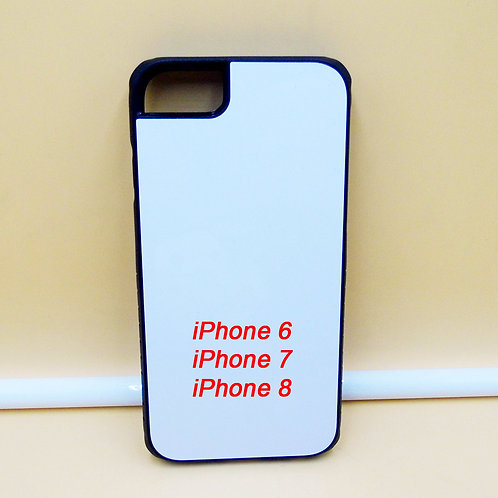 iPhone 6/ 7/ 8 blank armor case with white coating back for printing