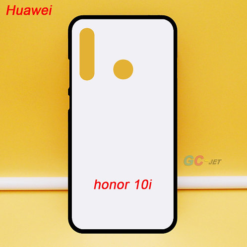 Huawei honor 10i blank printable phone case , soft tpu , white back