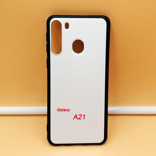 printable flexible tpu phone case for Galaxy A21