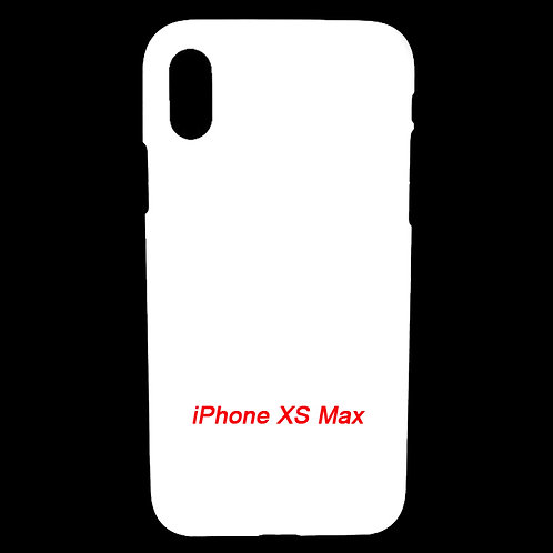 iPhone XS Max plastic blank mobile phone cover case for diy printing