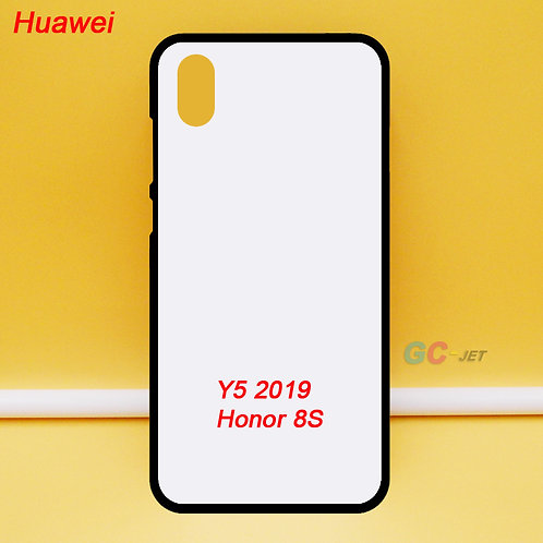 Huawei Y5 2019 / honor 8S tpu phone case with white printable coating back