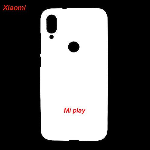 Xiaomi Mi Play printable plastic mobile case