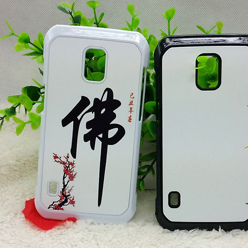 Galaxy S5 active blank 3d sublimation phone case for vacuum heat transfer photo