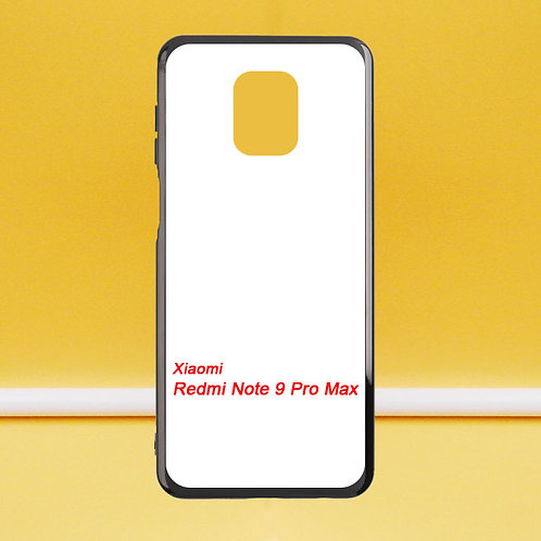 For Xiaomi Redmi Note 9 Pro Max soft tpu phone case for printing diy