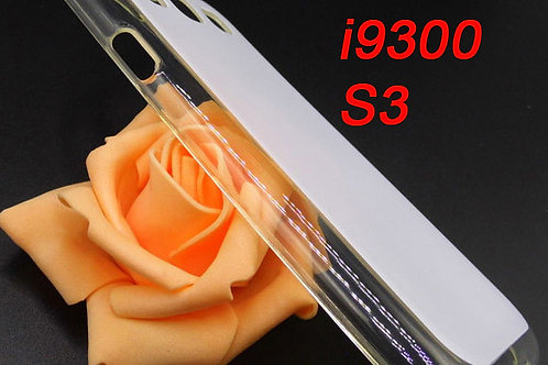 Samsung S3 clear transparent tpu phone cover for printing picture