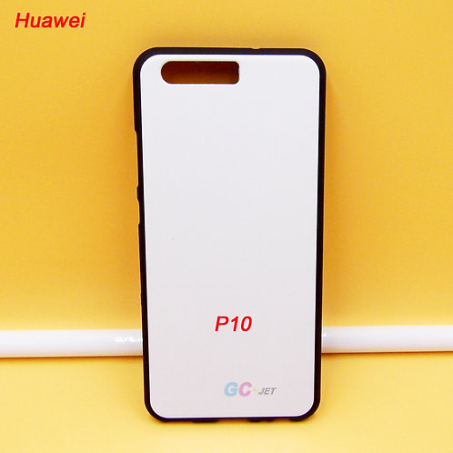 Huawei P10 tpu flexible phone case with white printable back