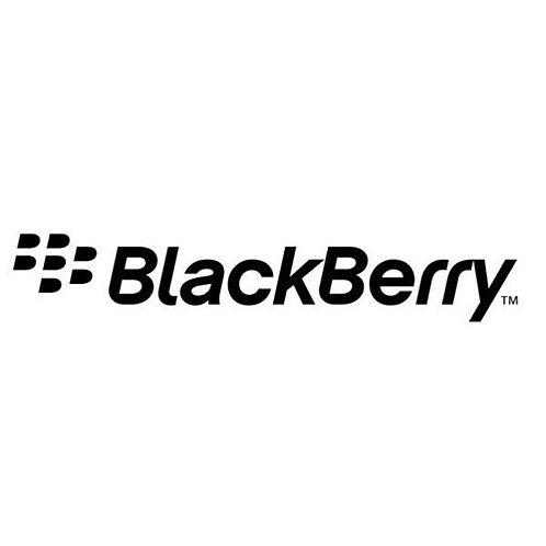 BlackBerry tpu silicone soft mobile case with white printable coating surface