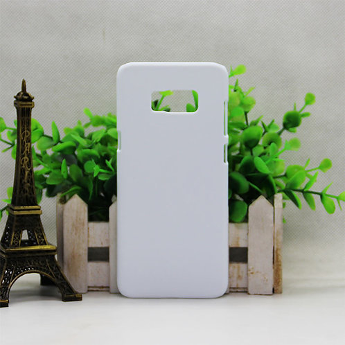 Samsung Galaxy s8 plus blank pc white phone cover case for 3d sublimation machin