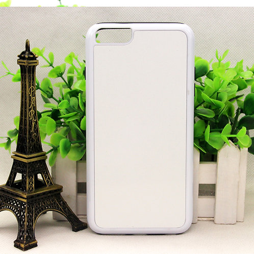 iPhone 6 6s plus blank 3d sublimation phone case for image heating transfer